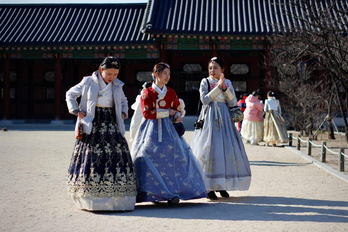 韓国伝統衣装チマチョゴリ