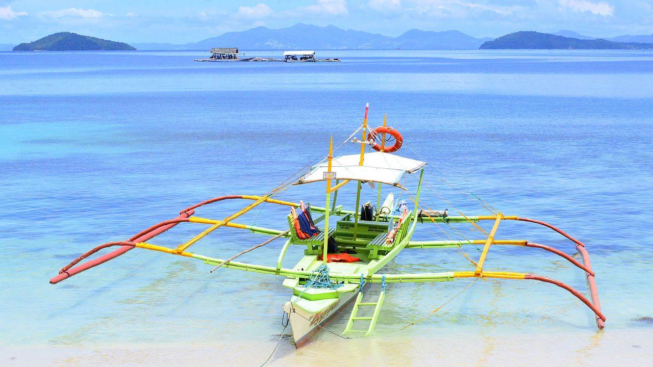 フィリピンの海の景色