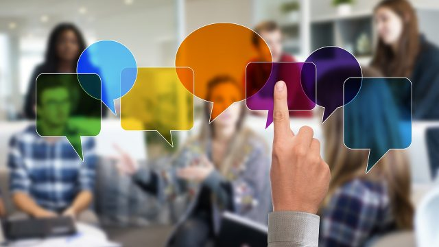 他人とのコミュニケーションのイメージ